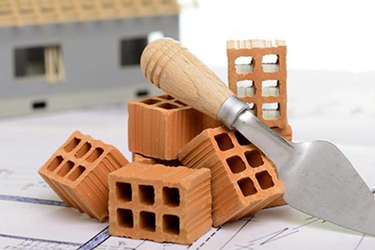edilizia forati mattoni cemento
